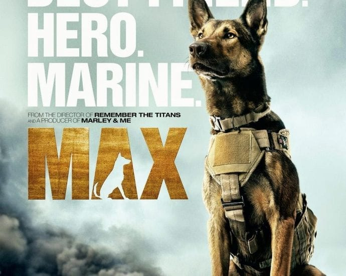 Max the war dog movie