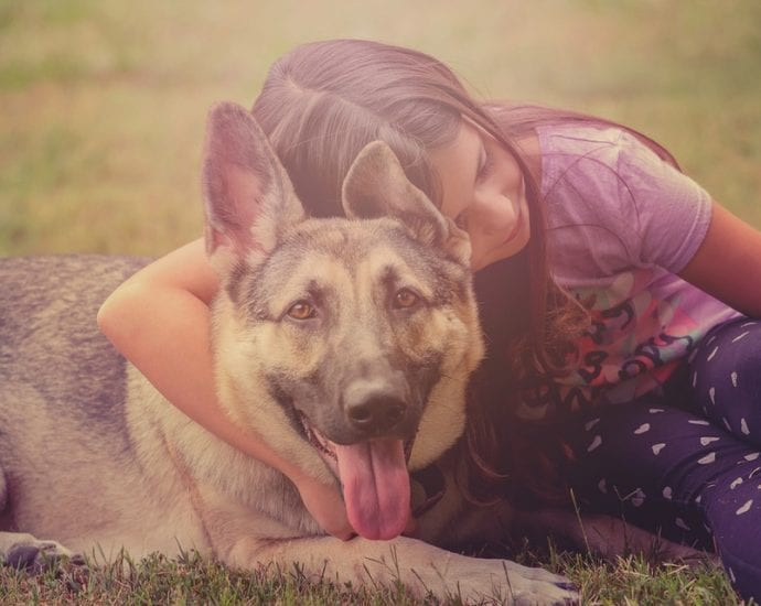Kids with pets are healthier - stress, anxiety, depression, autism