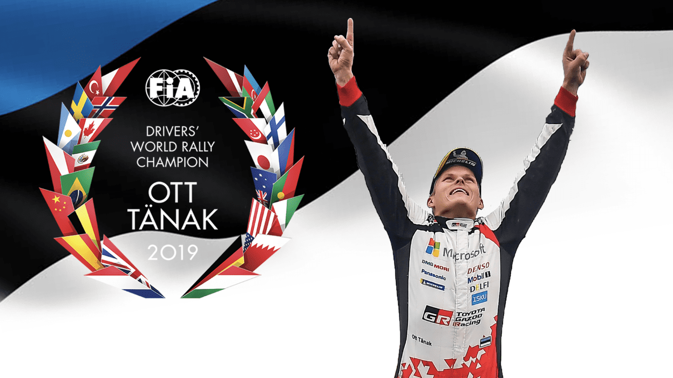 Ott Tänak New WRC World Champion 2019 ended Ogier and Loeb 15 years domination