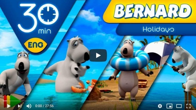 Bernard Bear Summer Adventures Videos for Children
