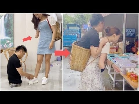 "Amazing couple: ""Together we have arms and legs"" 