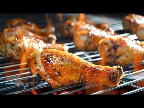 Delicious grilled chicken wings and legs for 1000 people | Mr Lee petworldglobal.com