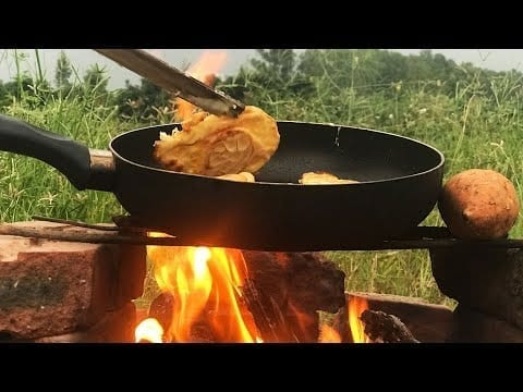 Extremely delicious fried sweet potato on a beautiful meadow | Mr Lee petworldglobal.com