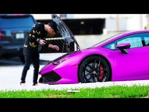 Lamborghini Gold Digger Prank GONE WRONG! (Rich Social Experiment) petworldglobal.com