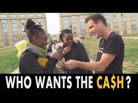 WHO WANTS THE CA$H ? (REMI GAILLARD) petworldglobal.com