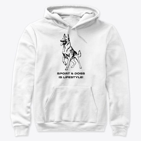 Pullover Hoodie Sport and Dogs Premium