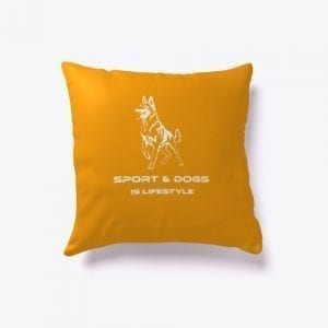 Indoor Pillow Sport & Dogs is Lifestyle
