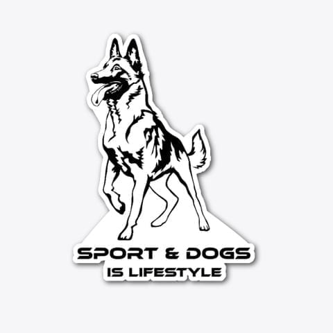 Sport & Dogs is Lifestyle Sticker