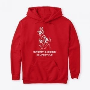 Standard College Hoodie Sport & Dogs is Lifestyle