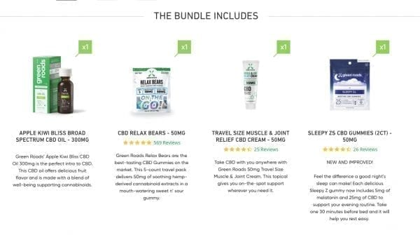 BEGINNER'S CBD BUNDLE - Daily Part of Your Wellness Routine CBD Products Cannabis Products