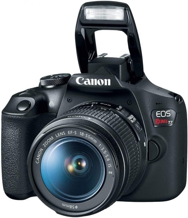Canon EOS Rebel T7 DSLR Camera with 18-55mm Lens   Built-in Wi-Fi 24.1 MP CMOS Sensor  DIGIC 4+ Image Processor and Full HD Videos