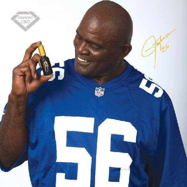 Lawrence Taylor Pain Master for Athletes Hemp Extracted CBD Oil and Creams